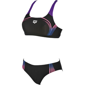 arena Modular Two-Pieces Swimsuit Women black-paparazzi